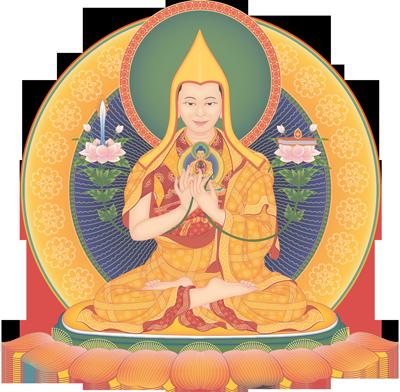 Wisdom Being in meditation posture