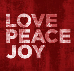 love joy and peace